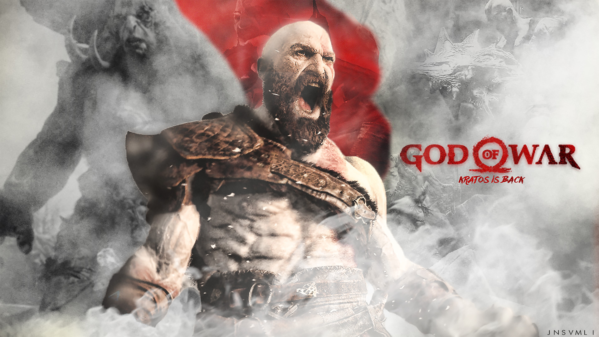 God Of War Wallpaper 1920x1080 Posted By Christopher Tremblay