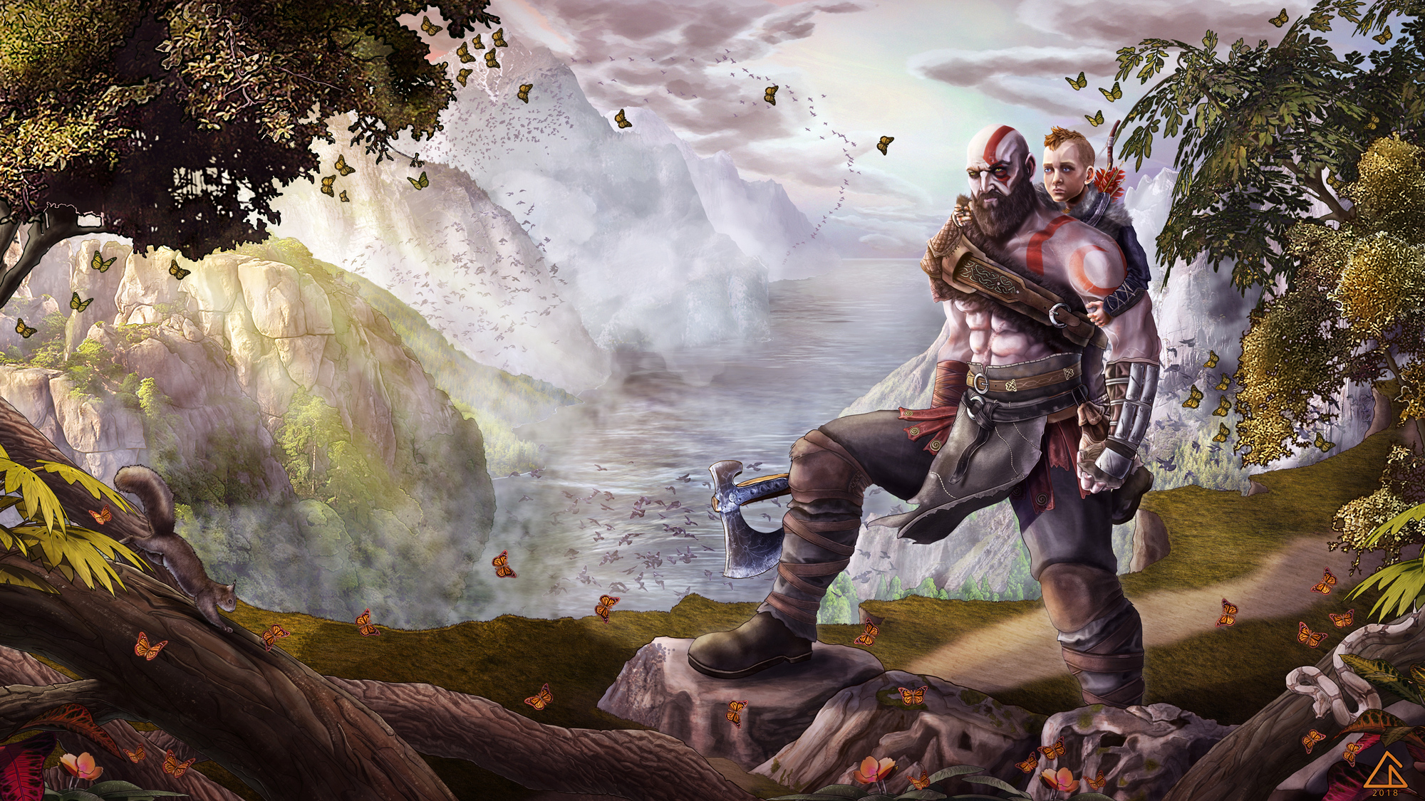 God Of War Wallpaper Posted By Ethan Johnson