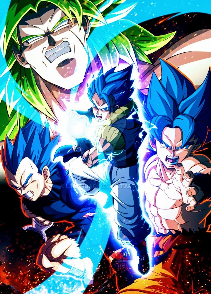 Gogeta Vs Broly Wallpaper Posted By Michelle Johnson