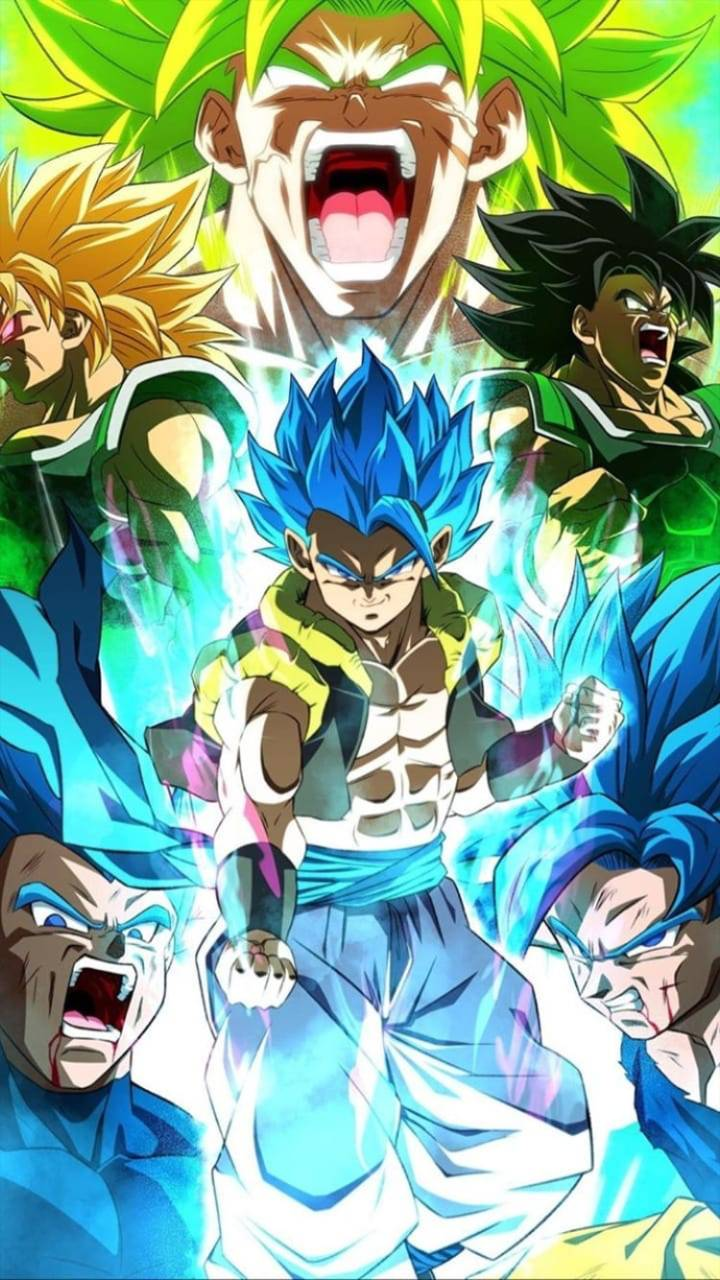 Gogeta Vs Broly Wallpapers Posted By Zoey Thompson
