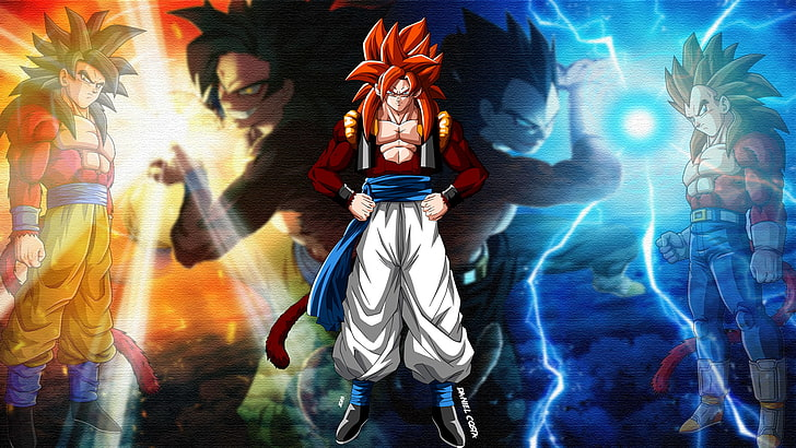 Gogeta Wallpaper 4k Posted By Ethan Johnson