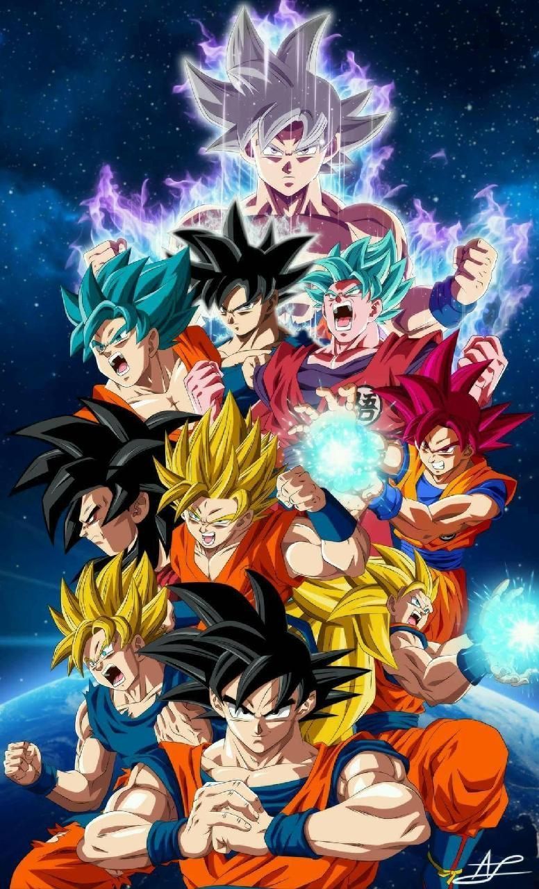 All Goku Forms 3D Wallpapers Top Free All Goku Forms 3D