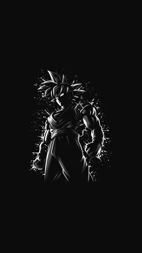 Goku Black And White Wallpapers Posted By Ethan Johnson