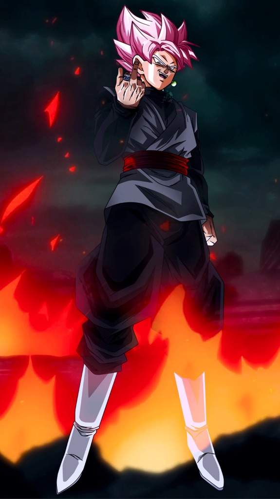 Goku Black Phone Wallpaper Posted By Zoey Simpson