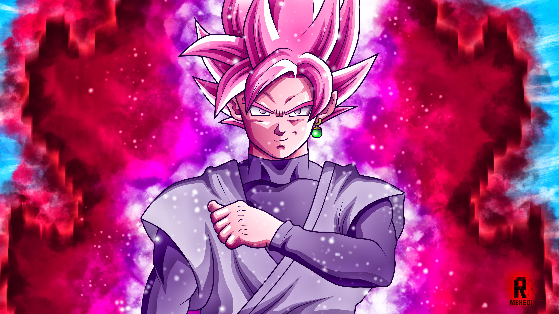 Goku Black Super Saiyan Rose Wallpaper Hd