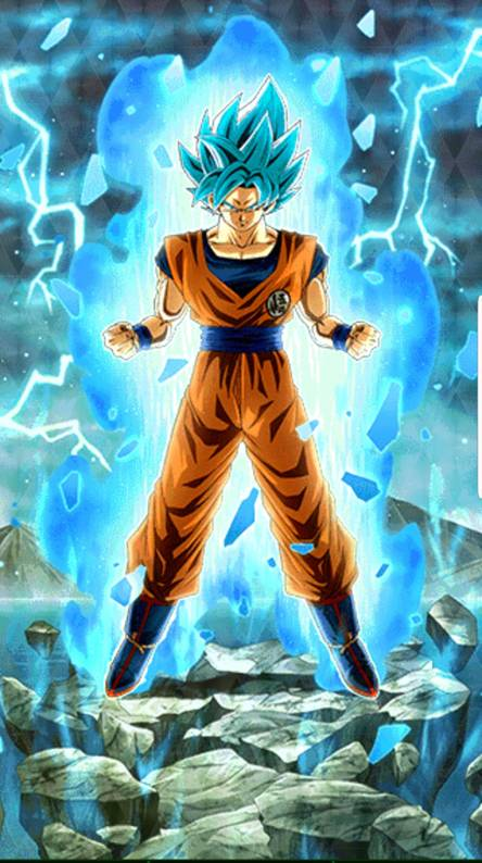 Goku Blue Wallpaper Posted By Ryan Thompson