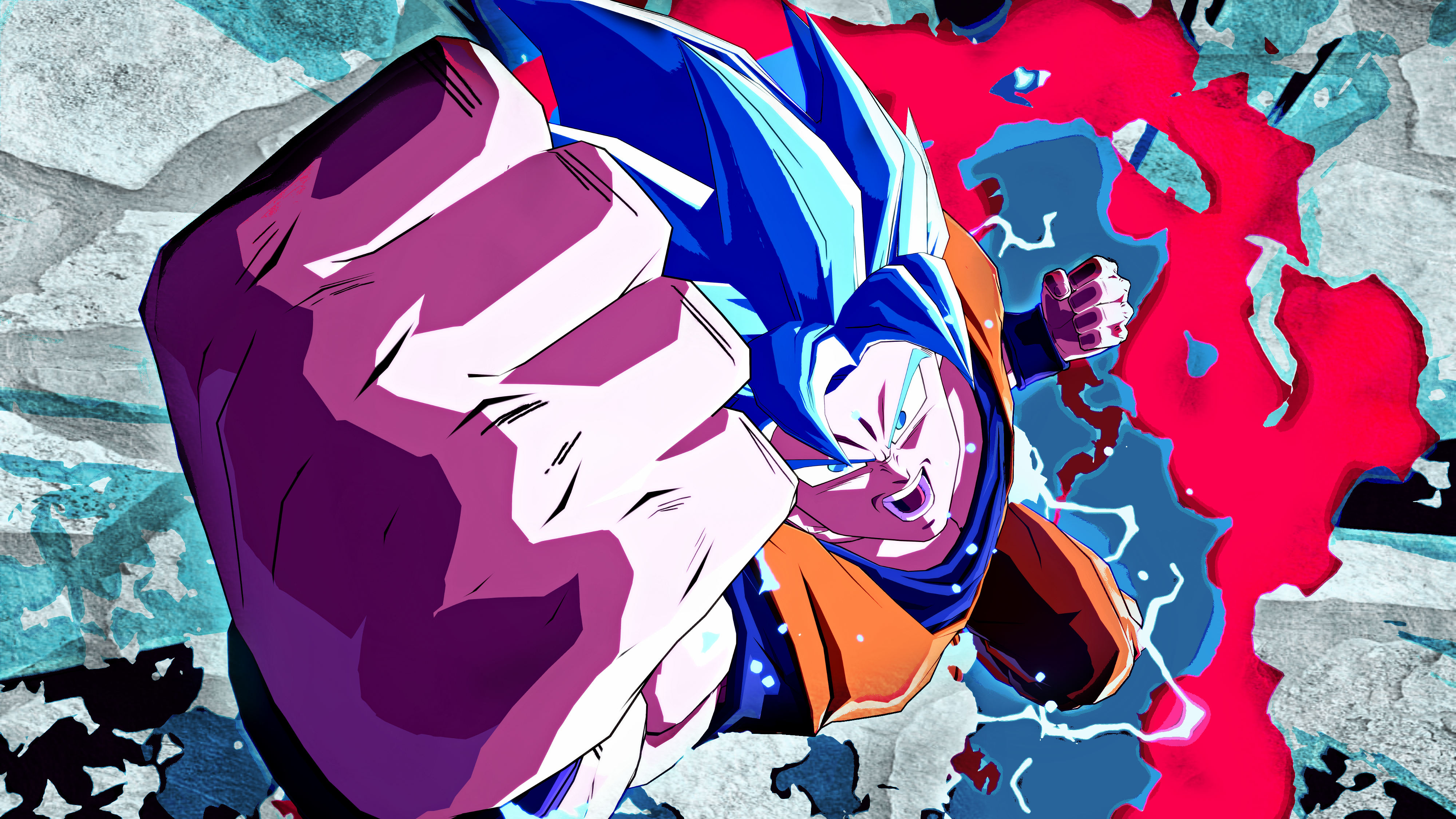 Goku Kaioken Wallpapers Posted By Samantha Thompson