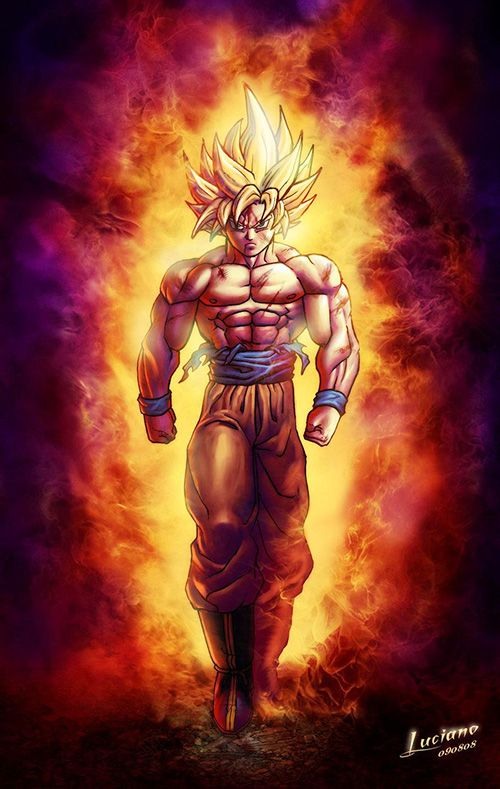 Goku Super Saiyan 5 Wallpaper Hd Posted By Christopher Mercado