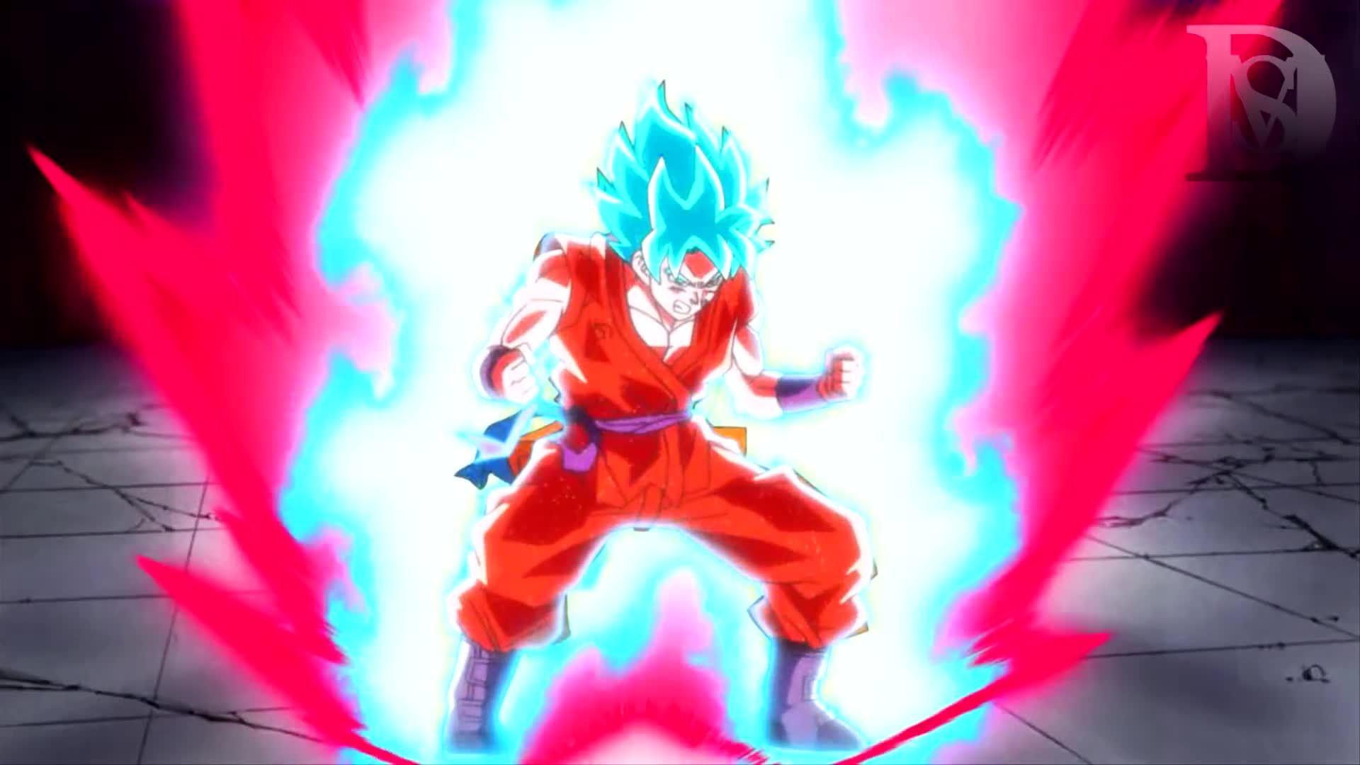 Goku Super Saiyan Blue Kaioken Wallpaper Posted By Michelle Sellers