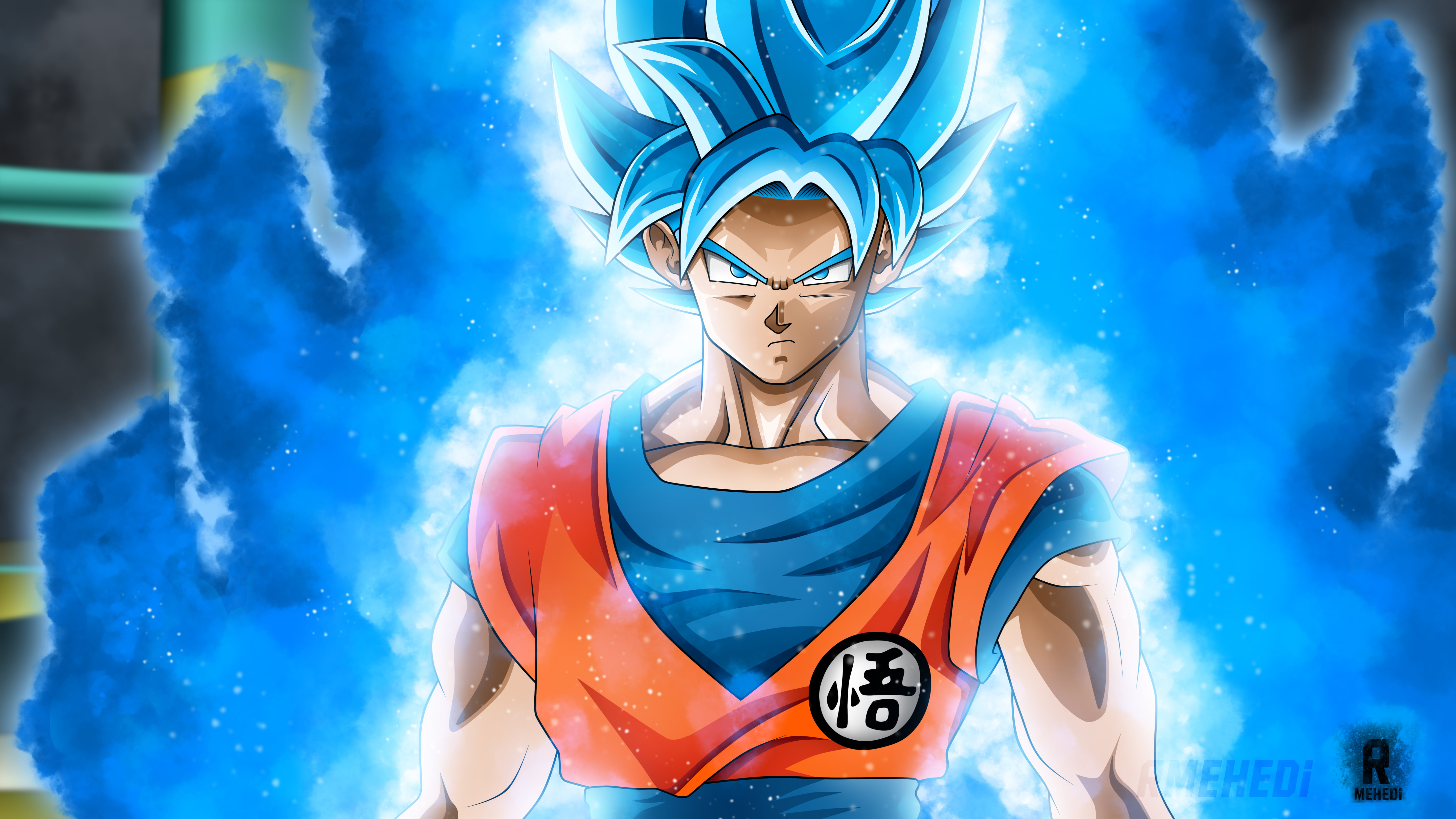 Goku Super Saiyan Blue Wallpapers Posted By Michelle Peltier