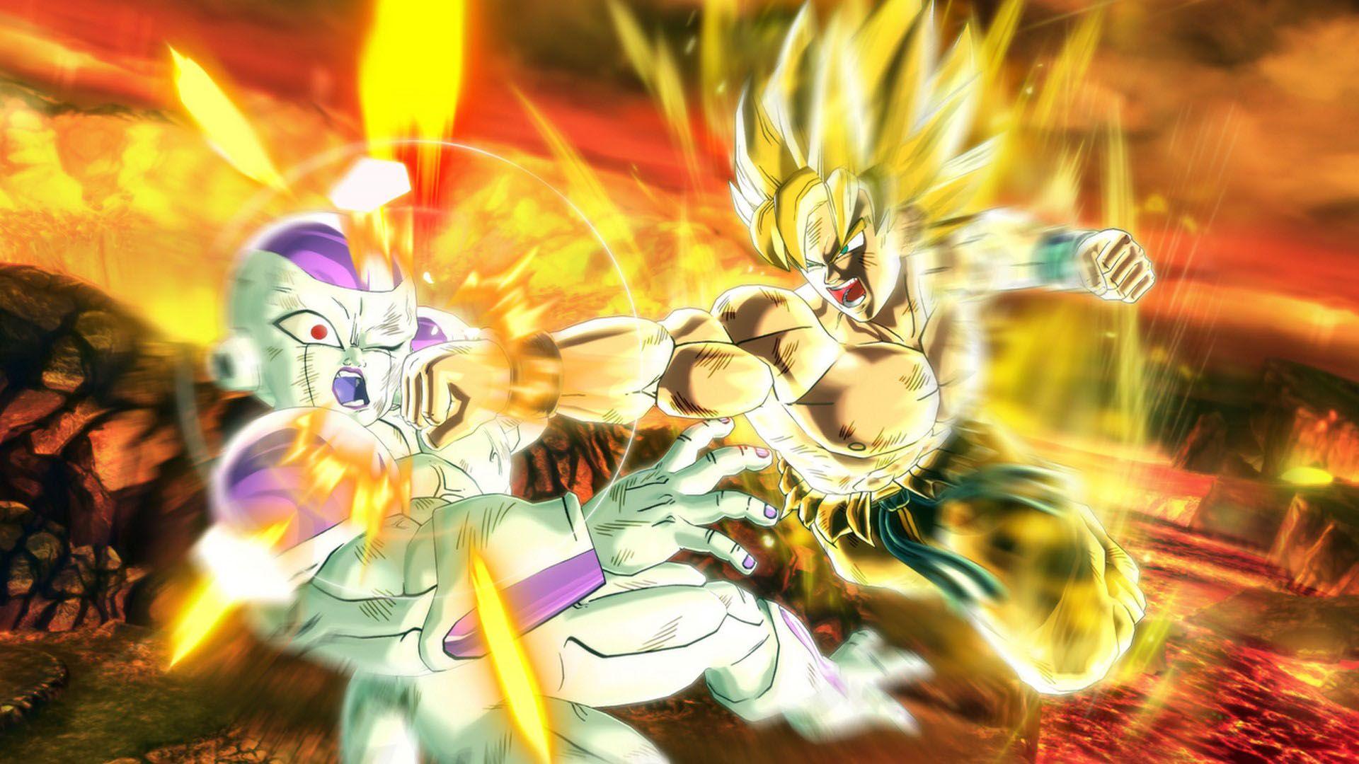 Goku Super Saiyan Wallpaper Posted By Christopher Johnson