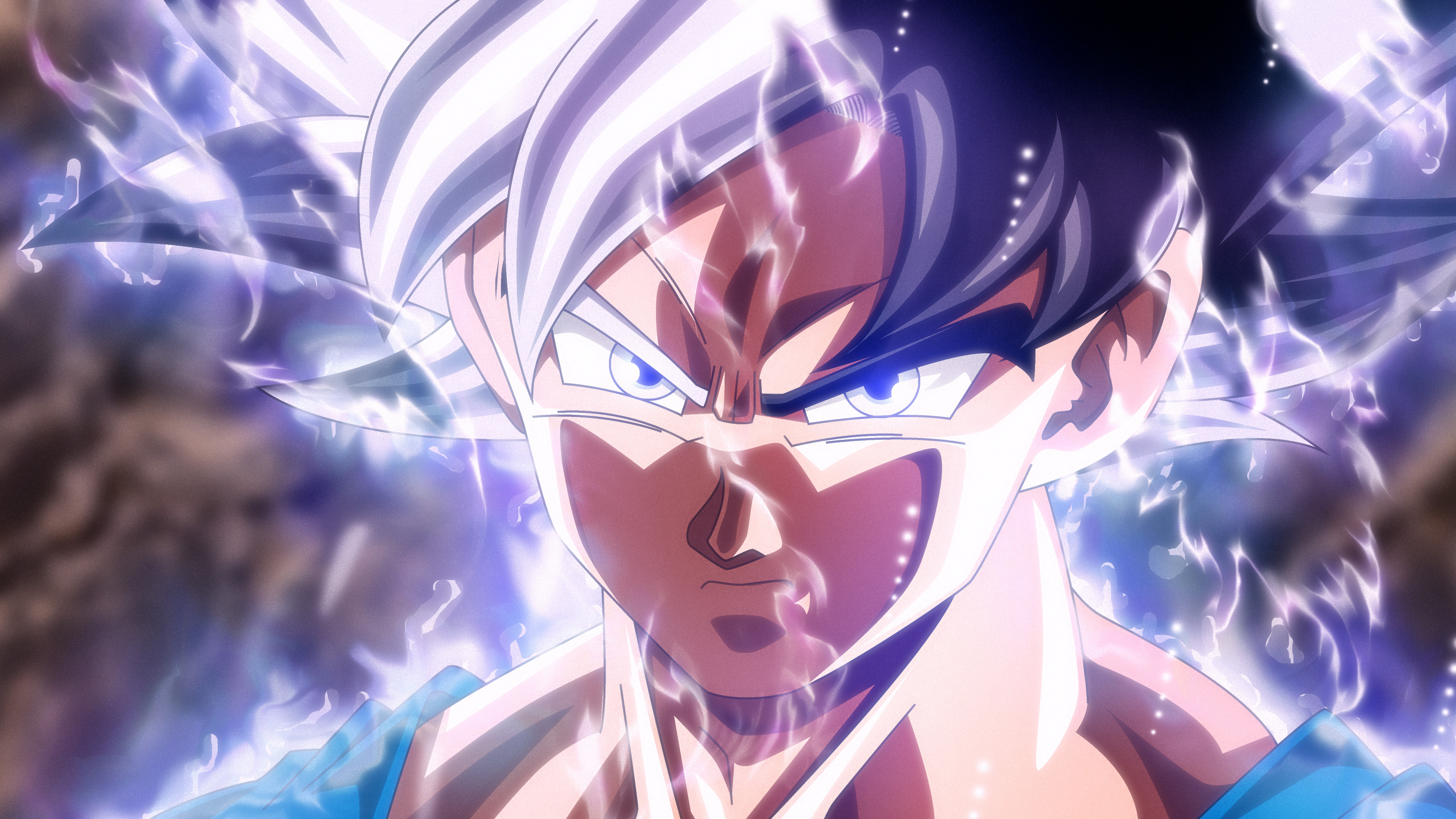 Goku Ultra Instinct Mastered Wallpaper Posted By Samantha Cunningham
