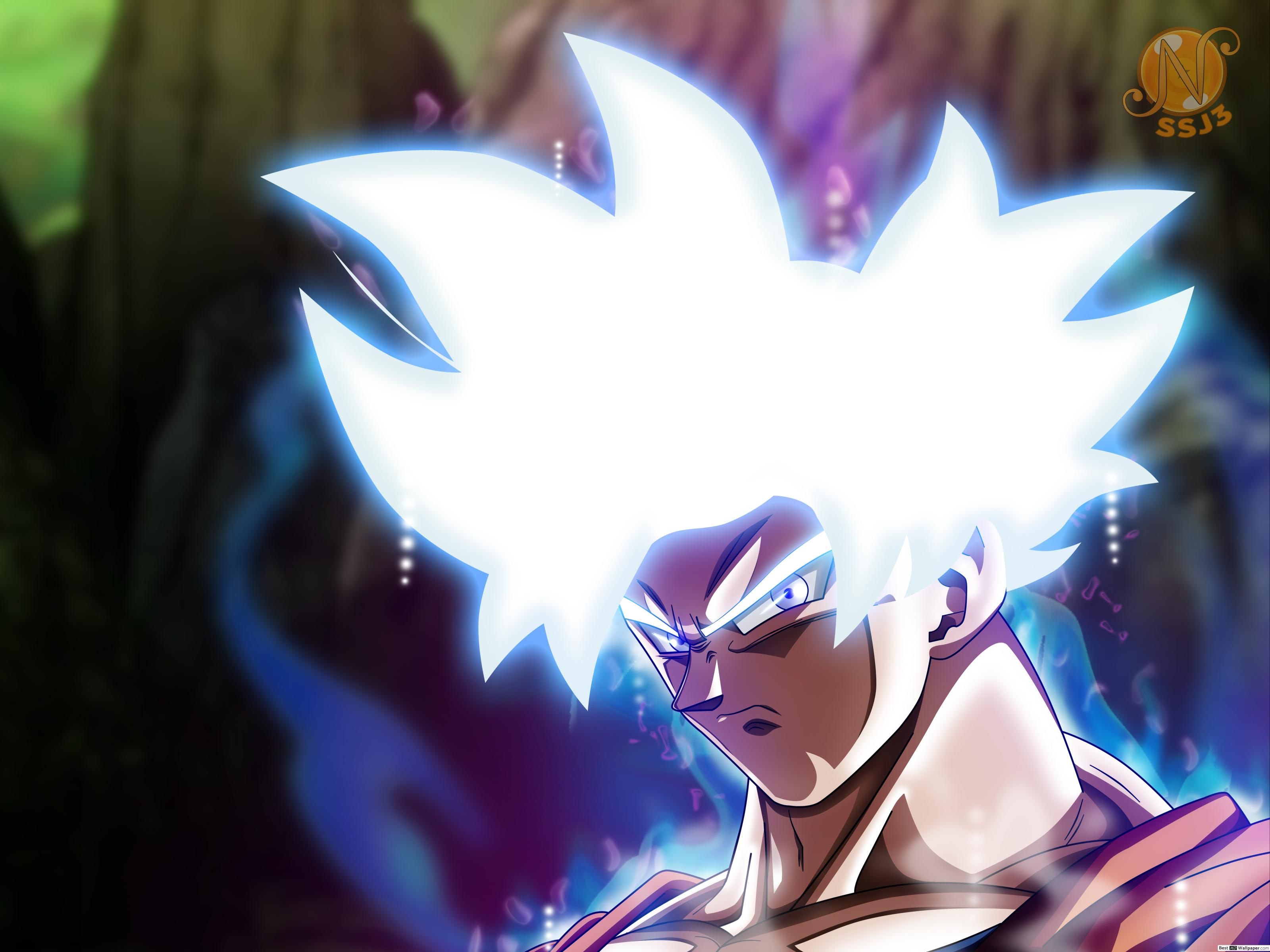 Goku Ultra Instinct Mastered Wallpaper Posted By Samantha Cunningham