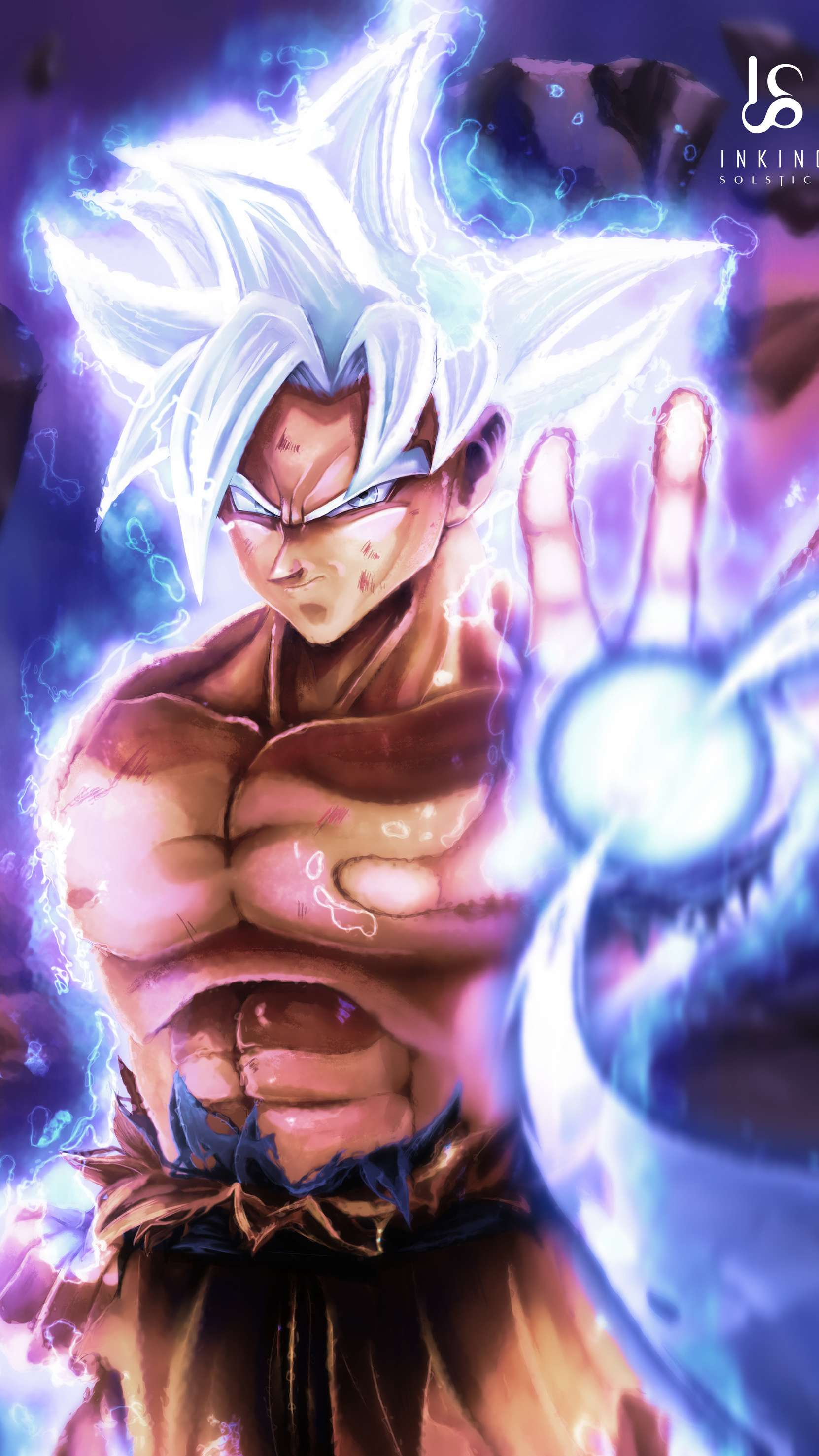 Goku Ultra Instinct Wallpapers Posted By Samantha Sellers