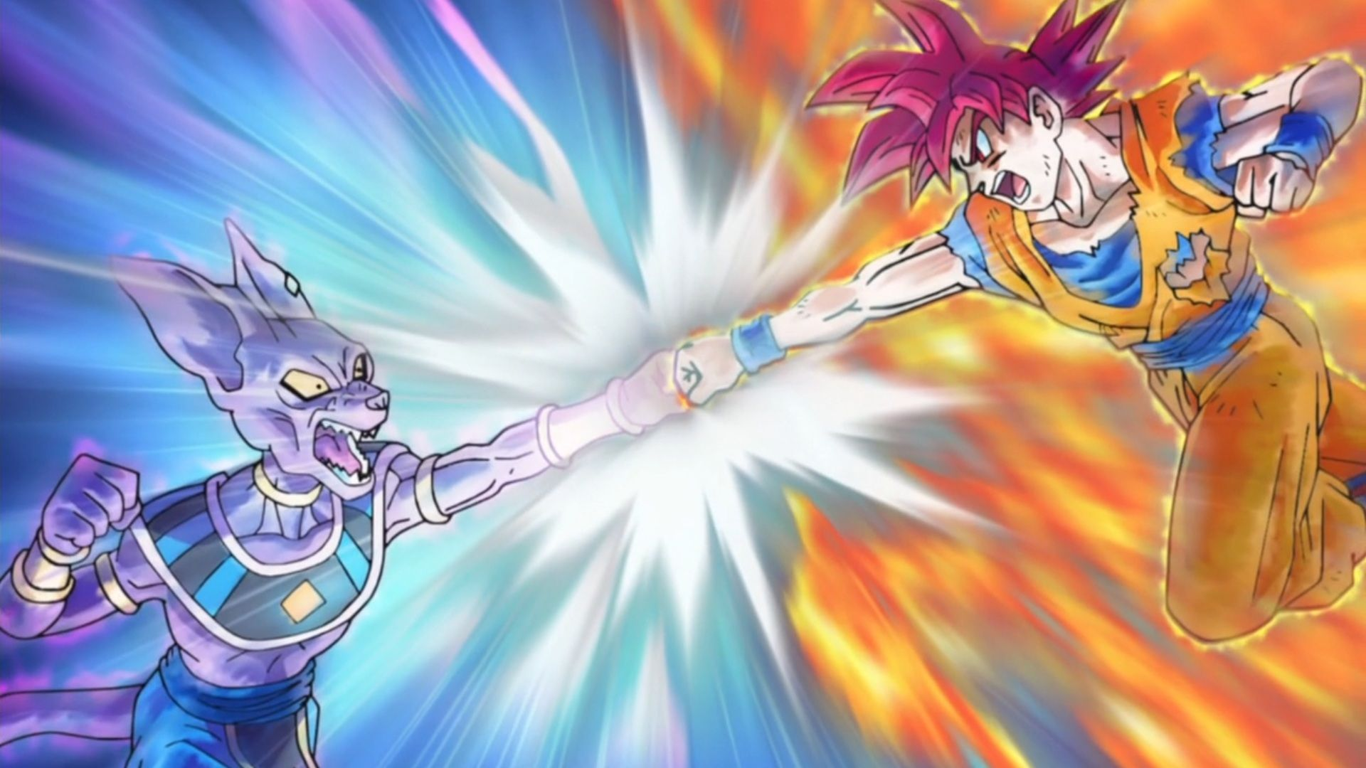 Goku Vs Beerus Wallpaper Posted By Ethan Peltier