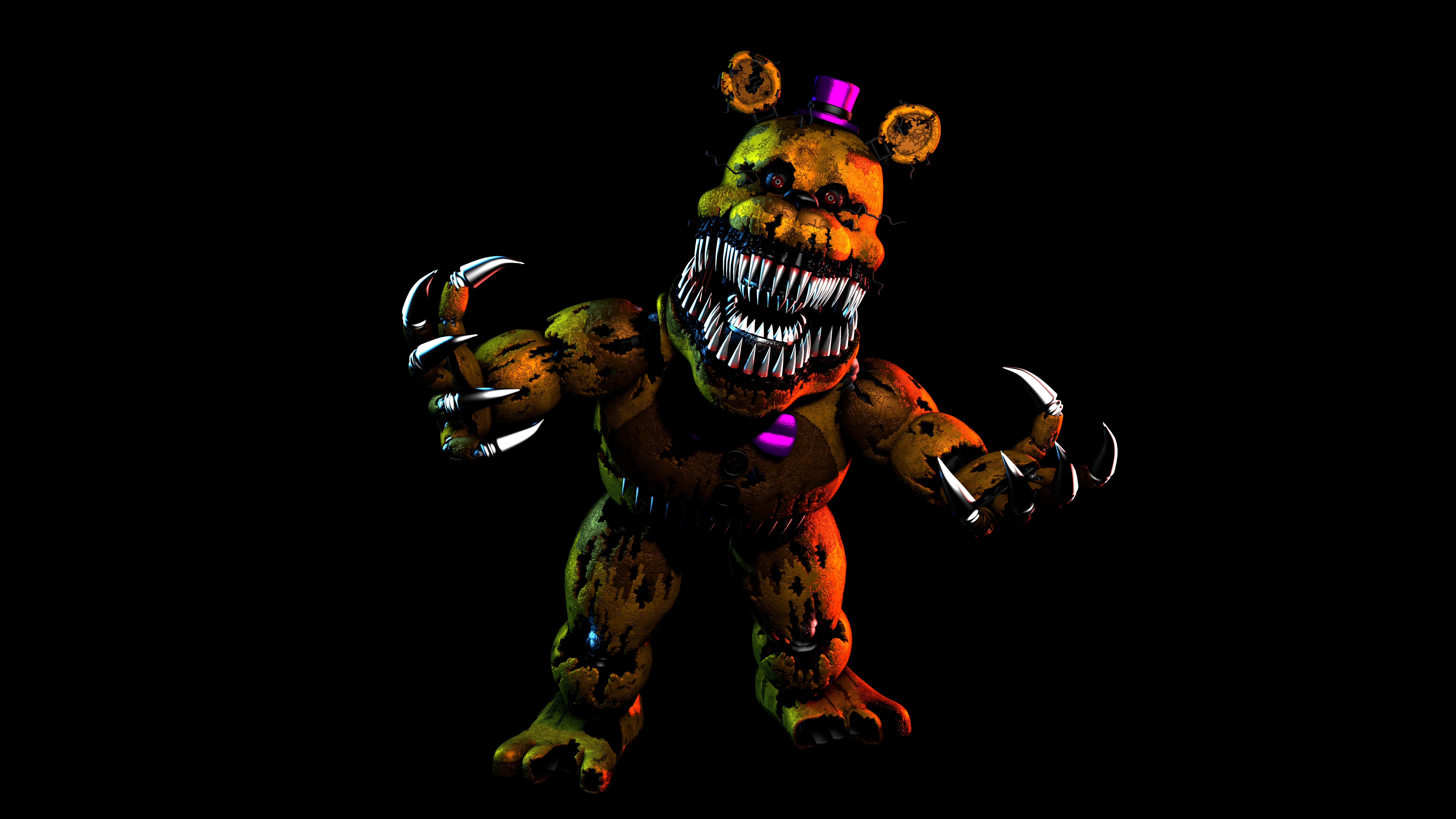 Golden Freddy Wallpapers Posted By Sarah Sellers