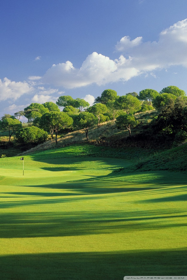 Golf Course Wallpaper Hd Posted By Ryan Sellers