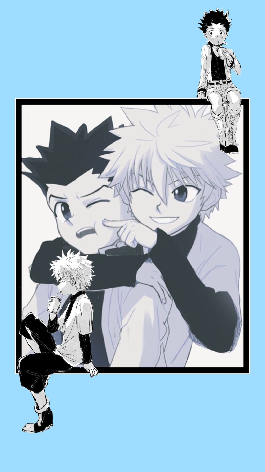 Gon And Killua Wallpaper Posted By Ethan Cunningham