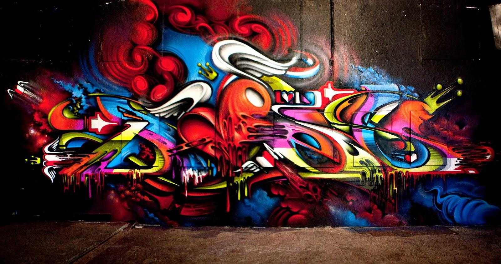 Graffiti Wallpaper Desktop 3d Posted By Ethan Simpson