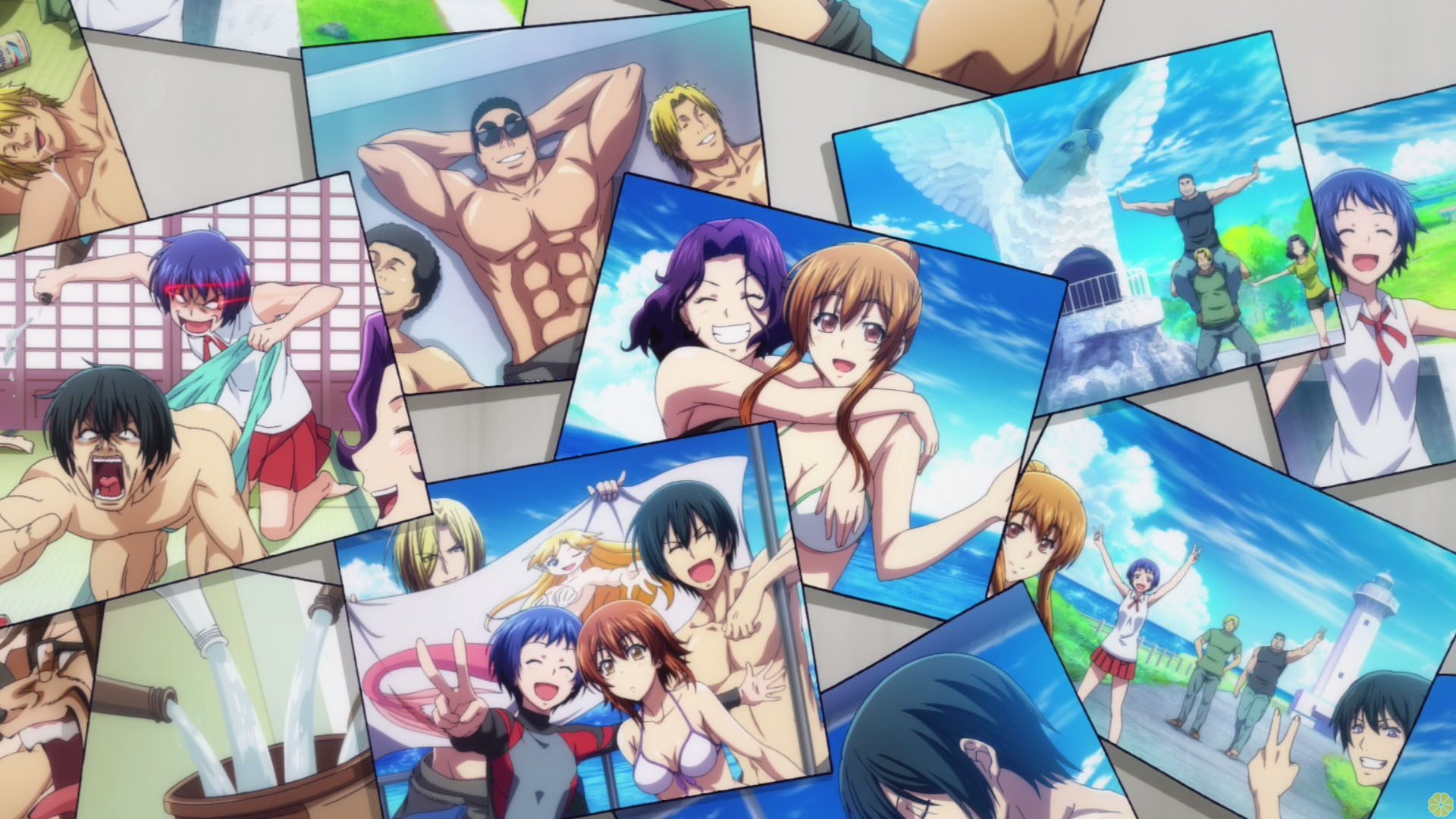 Grand Blue Wallpaper posted by Michelle Simpson