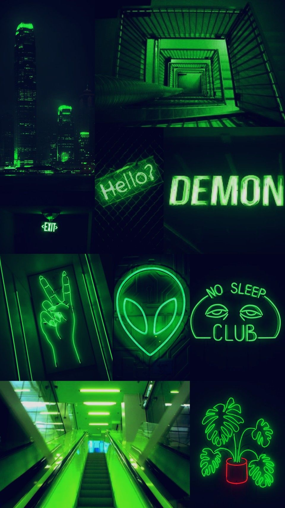 Green Neon Wallpaper Posted By Ryan Sellers