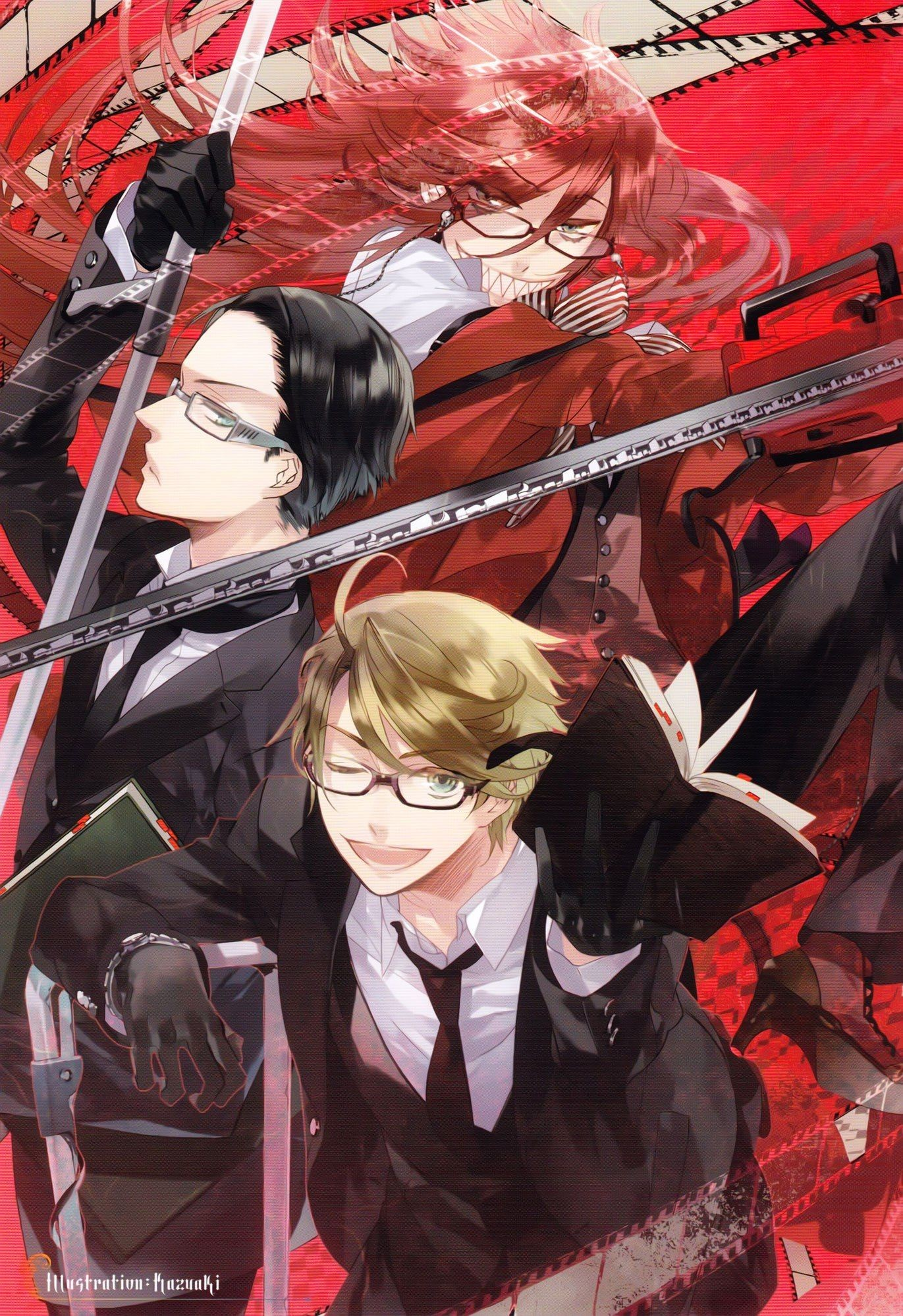 51 Grell Sutcliff Wallpapers On Wallpaperplay Black Butler
