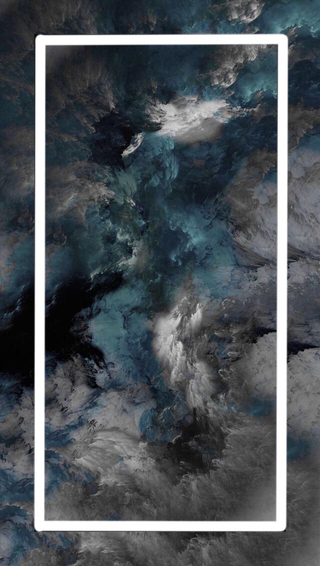 grey and blue aesthetic wallpapers posted by mercado