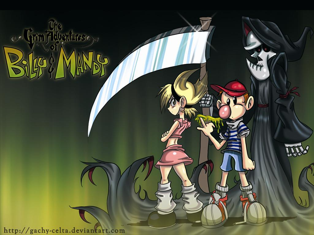Grim Adventures Of Billy And Mandy Wallpaper Posted By Ryan Johnson