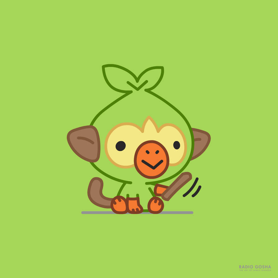 Grookey Hd Wallpapers Posted By Ryan Sellers
