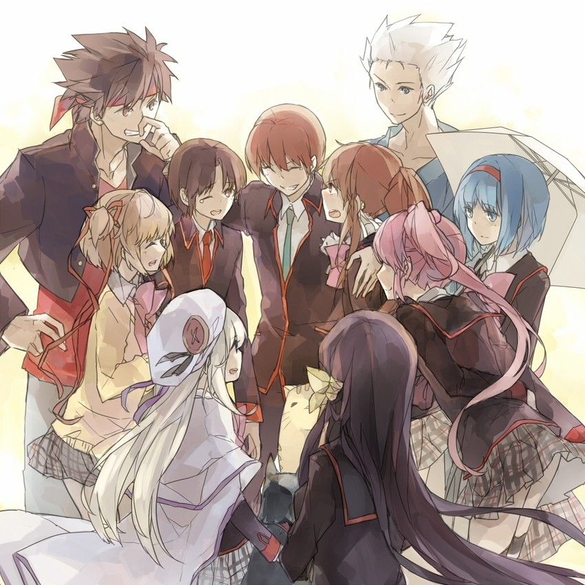 Group Of Friends Anime Posted By John Thompson