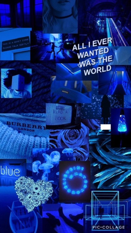 Grunge Blue Aesthetic Posted By Ethan Mercado