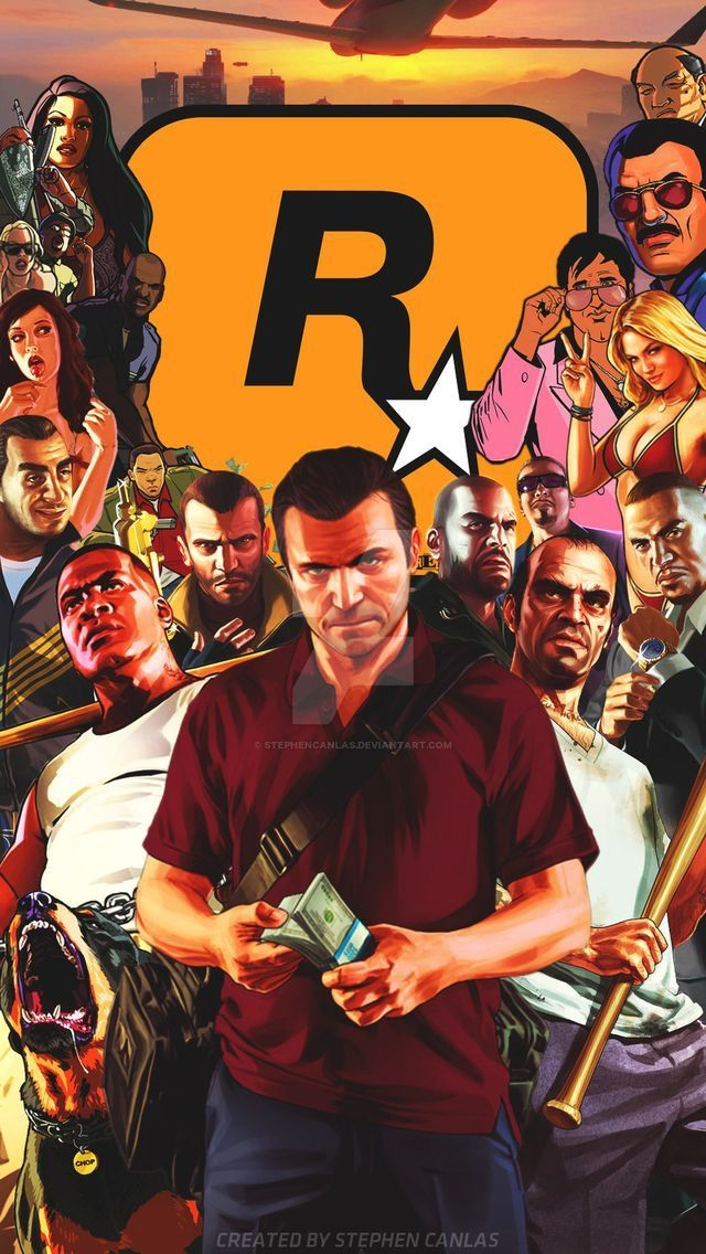 Gta V Phone Wallpaper Posted By Christopher Simpson