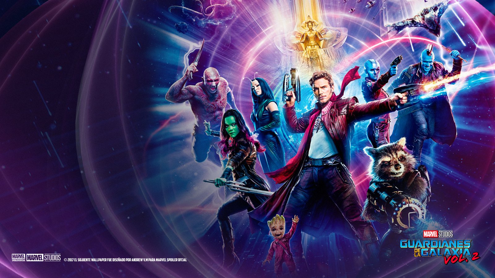 Guardians Of The Galaxy 2 Wallpaper Posted By Samantha Thompson