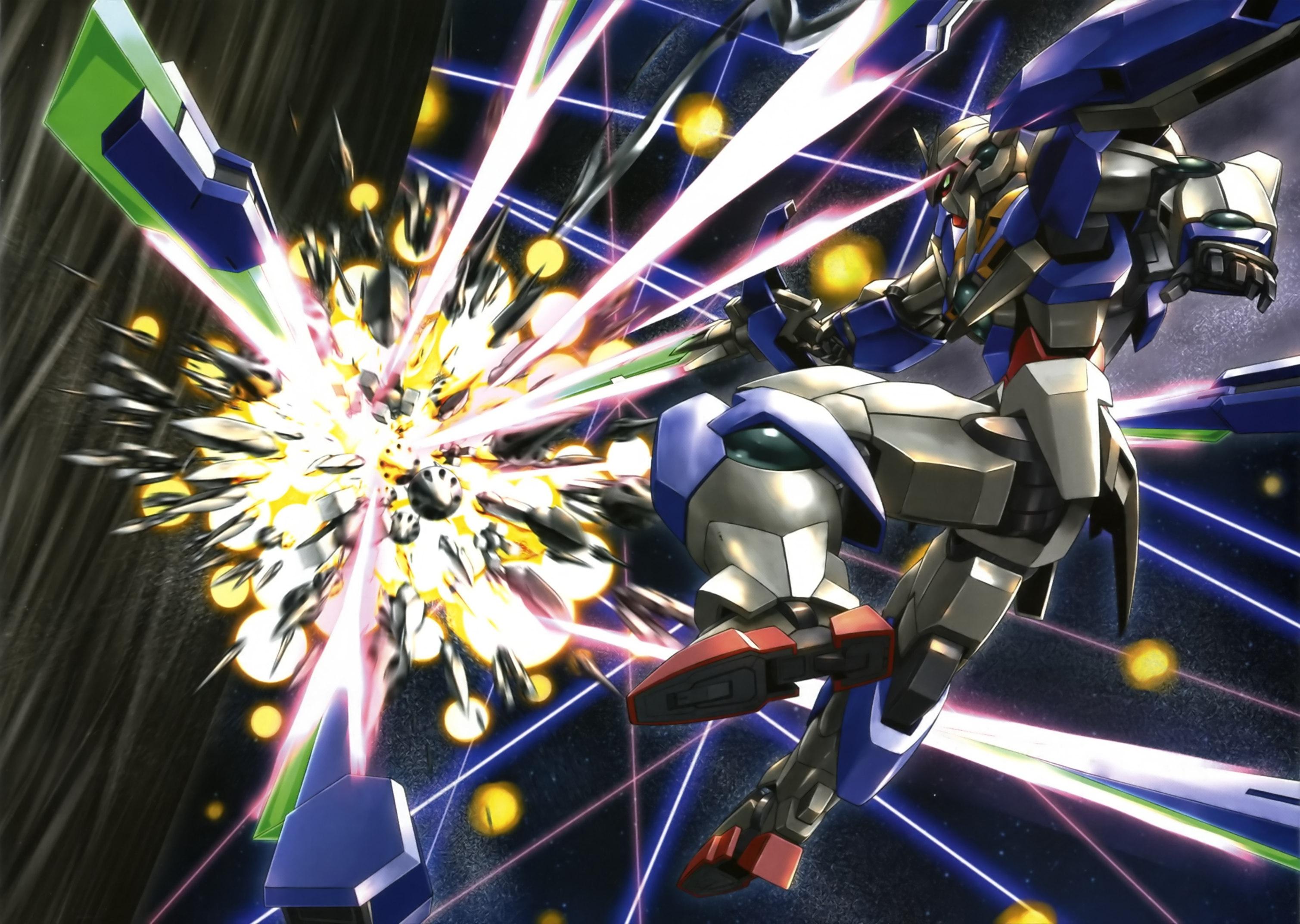 Gundam 00 Quanta Wallpaper Posted By Michelle Johnson