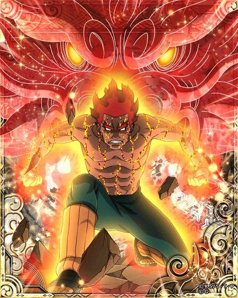 Mighty Guy 8 inner gate kai Arte naruto Anime naruto e