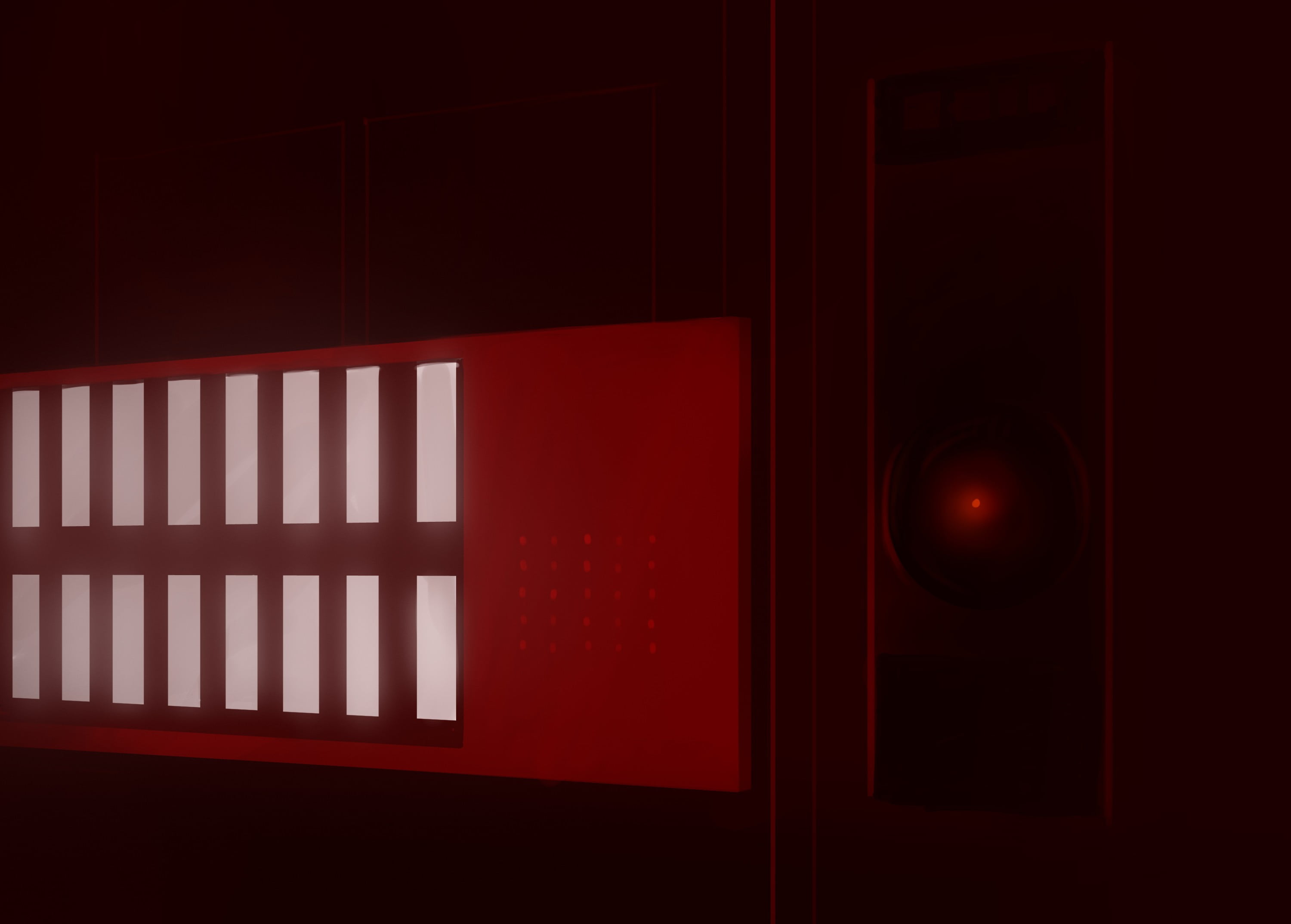 Hal 9000 Iphone Wallpaper