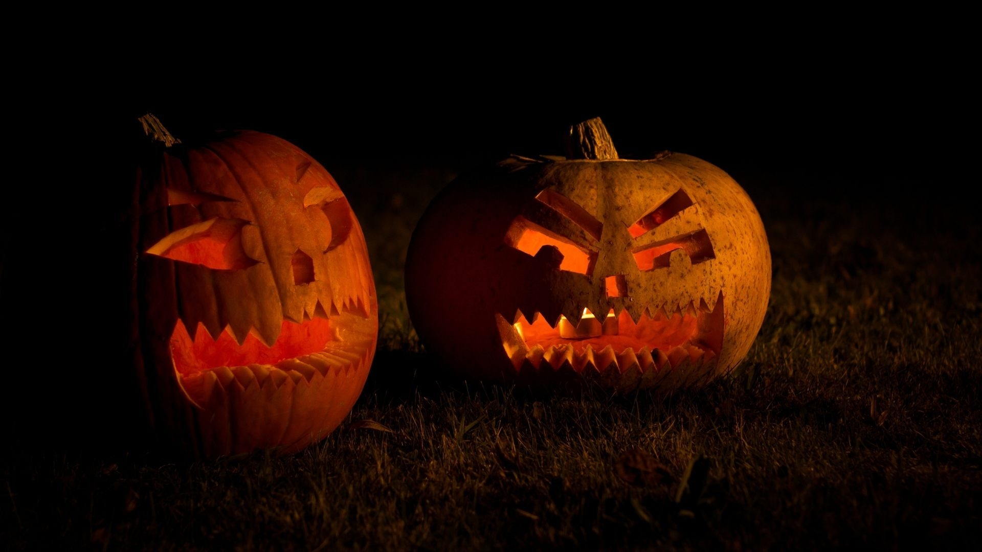 Halloween Scary Pumpkin Wallpaper, HD Holidays 4K Wallpapers