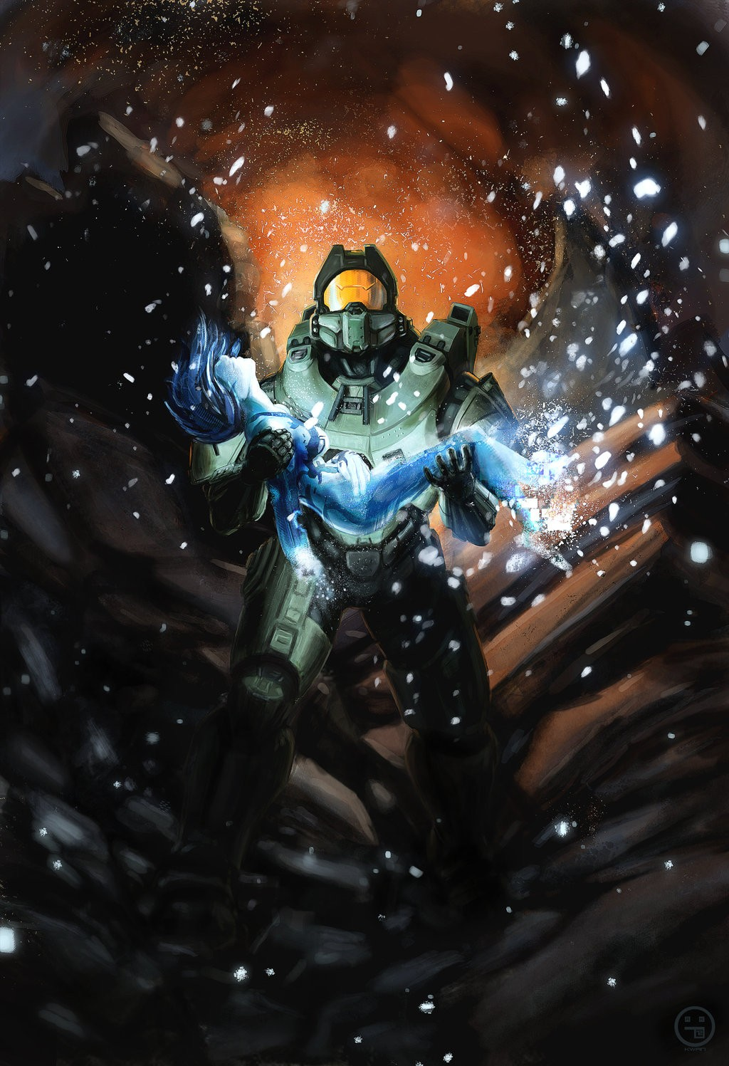 Halo Cortana Wallpaper Posted By Christopher Cunningham