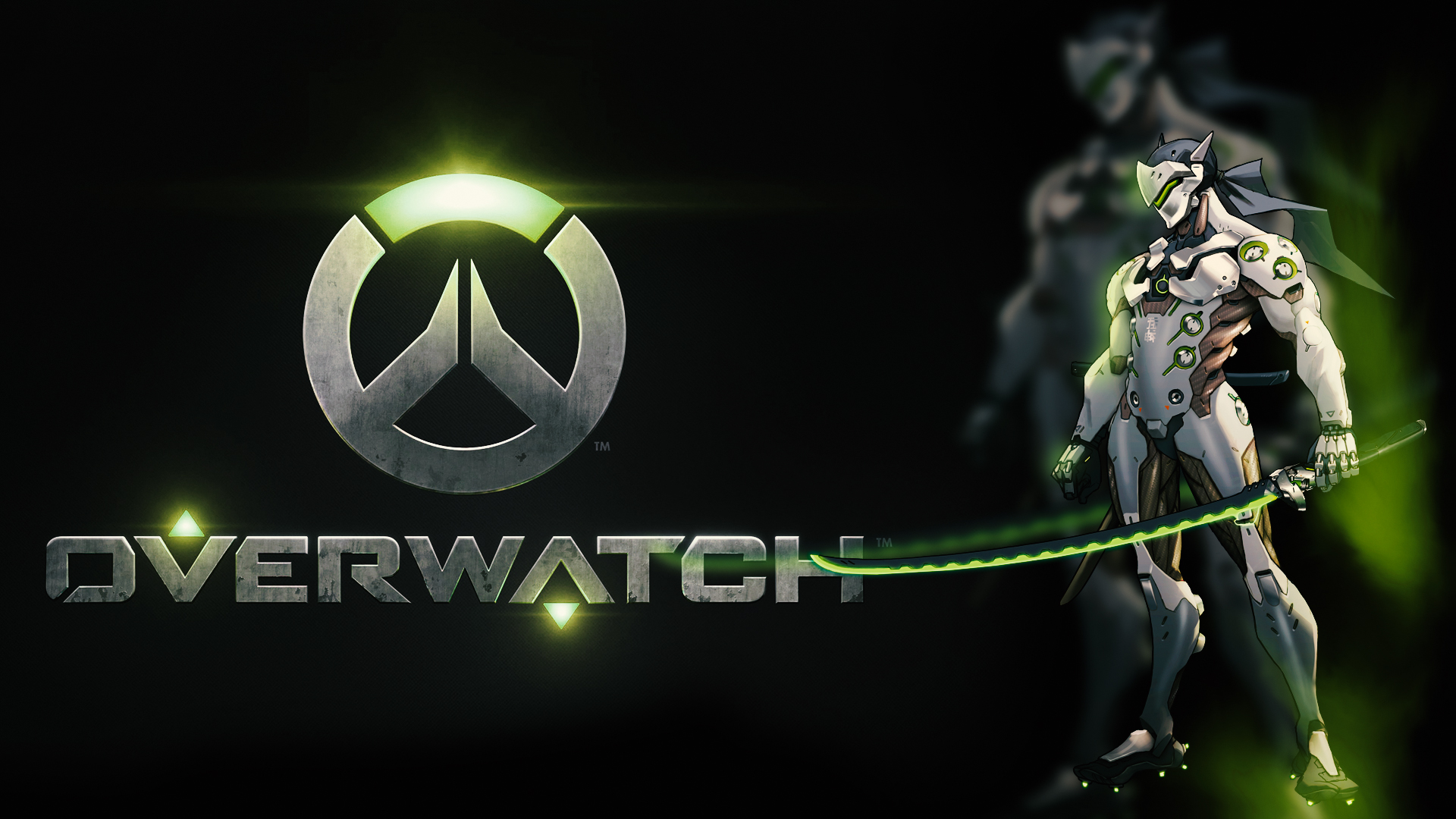Genji Overwatch Wallpaper 26 images on Genchi.info