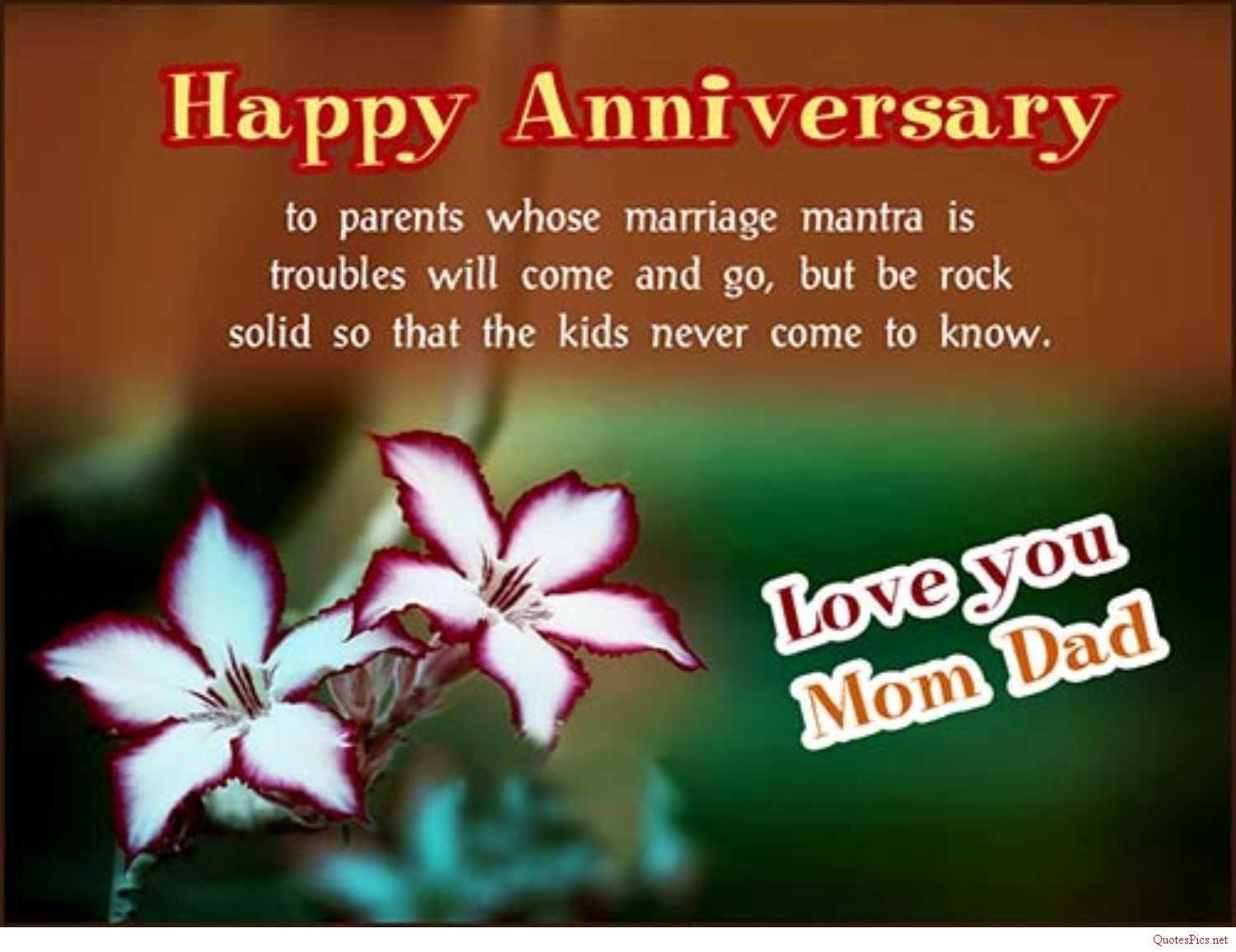 Happy Anniversary Mom And Dad Images Posted By Ethan Simpson