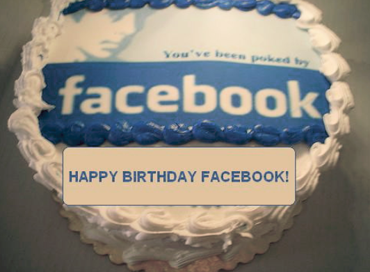 Marvelous Happy Bday Cake For Facebook Posted By John Simpson Personalised Birthday Cards Beptaeletsinfo