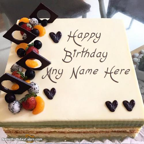 Wondrous Happy Birthday Cake Images Posted By Ryan Simpson Funny Birthday Cards Online Fluifree Goldxyz