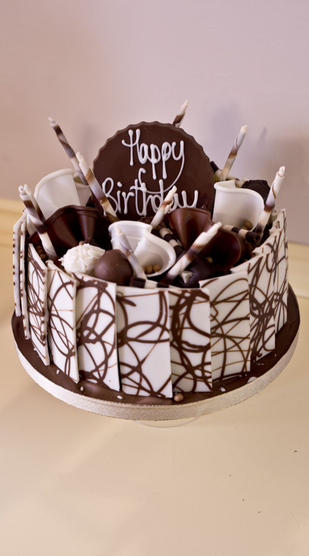 Happy Birthday Chocolate Cake Images Posted By Michelle Johnson