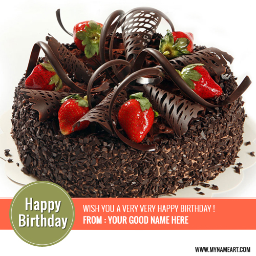 Tremendous Happy Birthday Chocolate Cake Images Posted By Michelle Johnson Funny Birthday Cards Online Fluifree Goldxyz