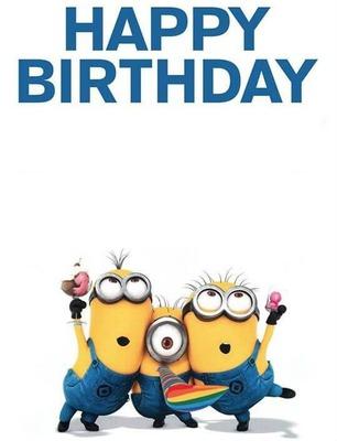 Happy Birthday Minions Pics Posted By Ryan Peltier