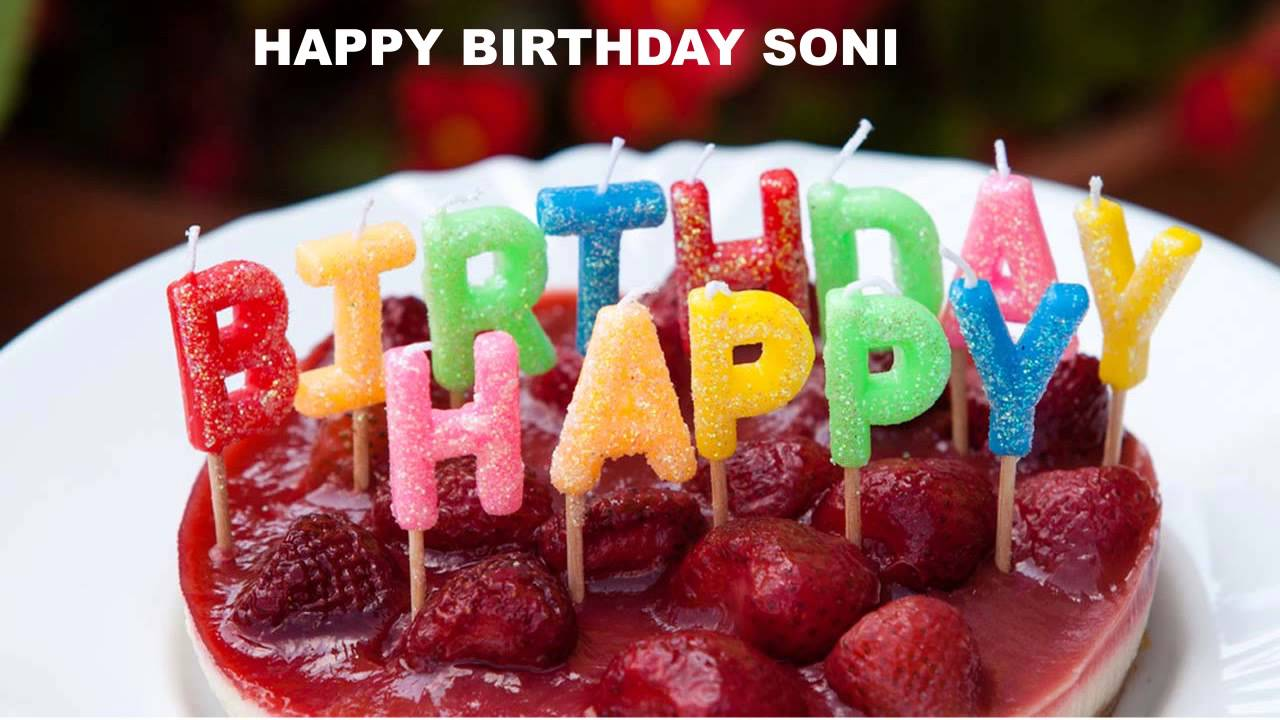 Happy Birthday Soni Wallpaper Posted By Zoey Sellers