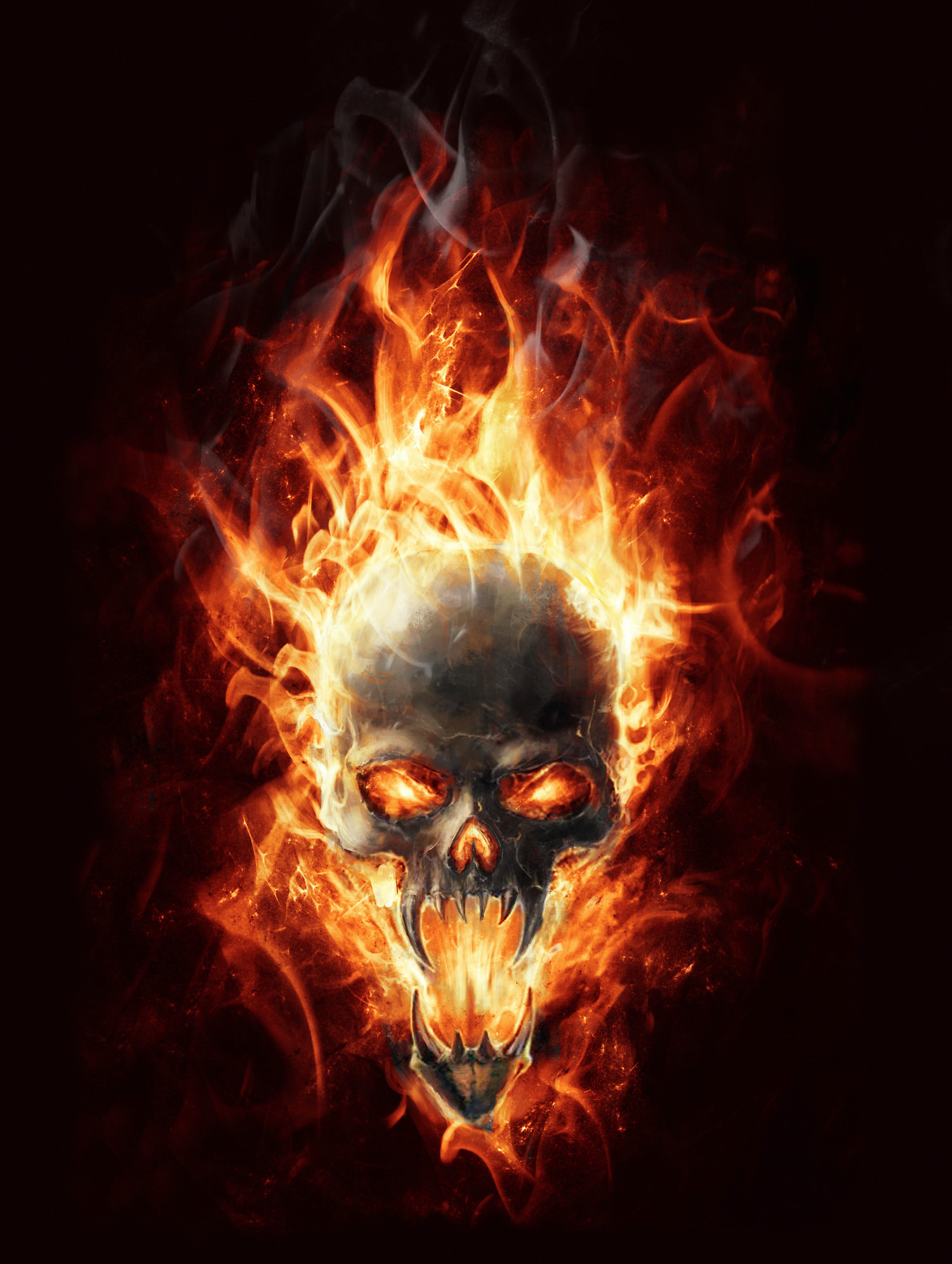Harley Davidson Skull Wallpaper Hd Posted By Zoey Sellers