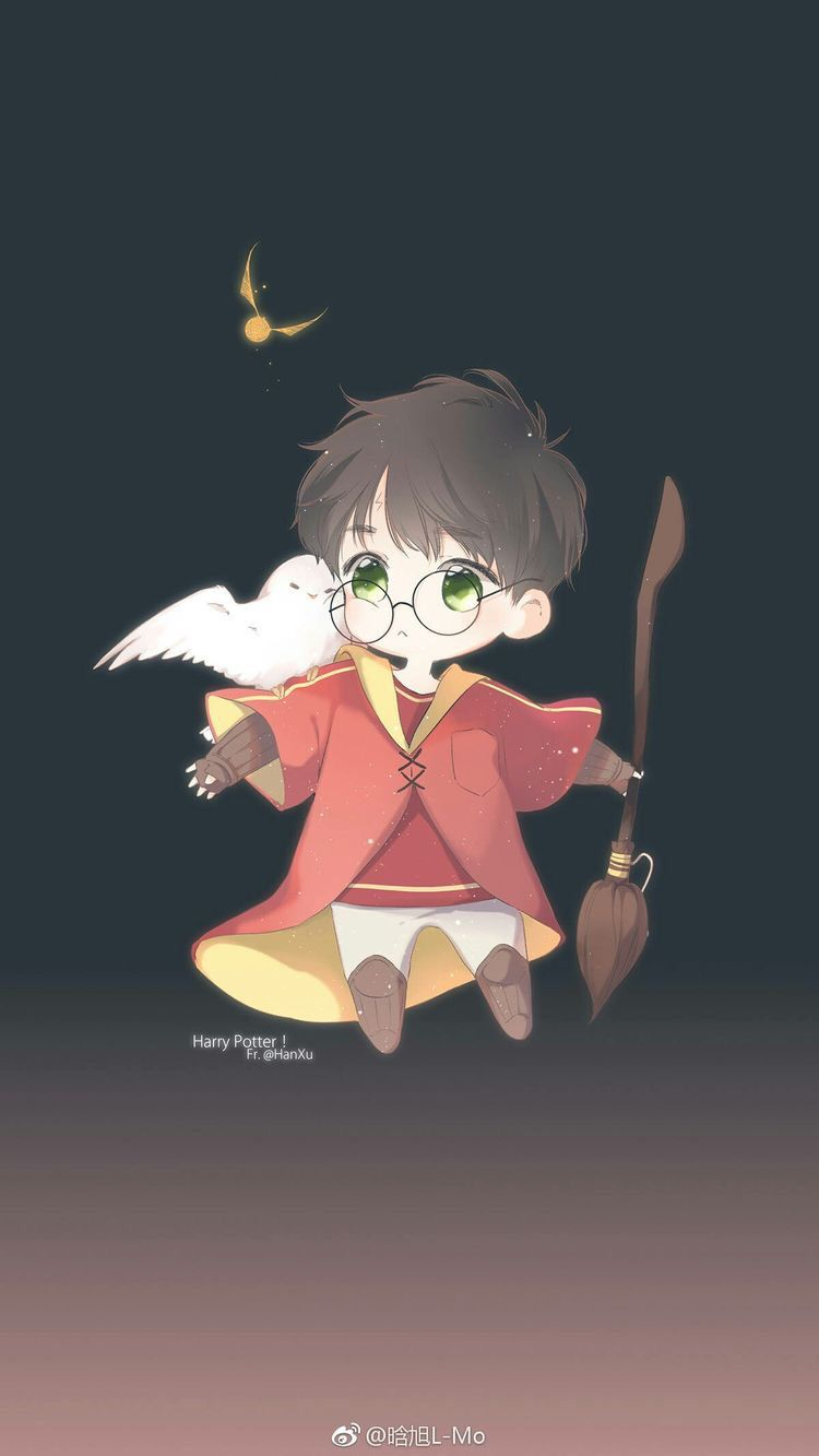 harry potter cartoon wallpaper posted by samantha tremblay harry potter cartoon wallpaper posted