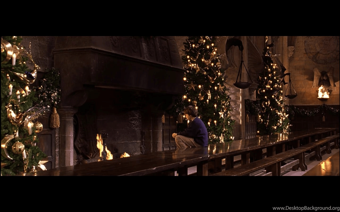 Harry Potter Christmas Computer Wallpapers Top Free Harry