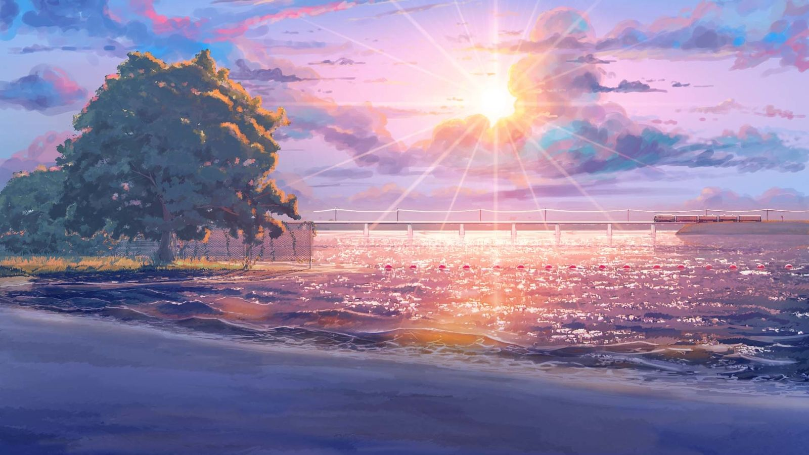 Hd Anime Background Wallpaper Posted By Christopher Simpson